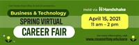 Cal State East Bay University: Business & Technology Virtual Career Fair, April 15, 2021