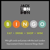 Jack London District BINGO Bash!