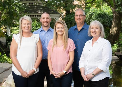 PFS Team (L to R: Bethany Russell, Jarrod Null, Lauren Crow, David Cowee, Deborah Walston)