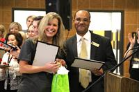 Wendy Barnhill, special education teacher at Brooks-Quinn-Jones was chosen as the Nacogdoches Independent School District Elementary School Teacher of the Year.