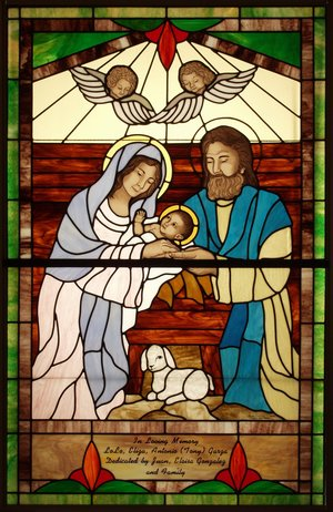 Glass Castles designs and crafts beautiful stained glass church windows.