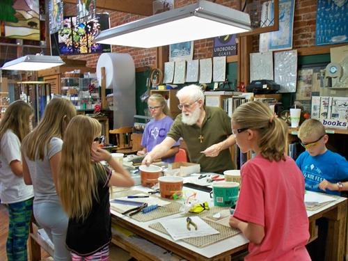 Kids Camp held June, July and August