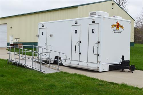 Duchess Climate Controlled Handicap Accessible Restroom Trailer
