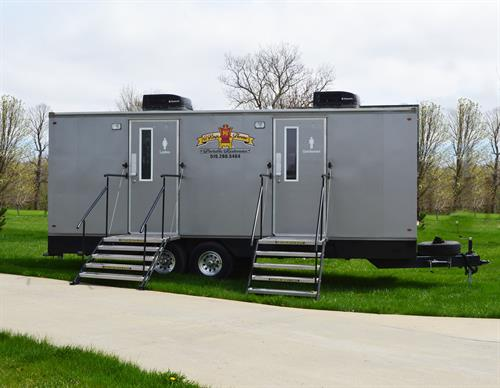 Royale Climate Controlled Restroom Trailer