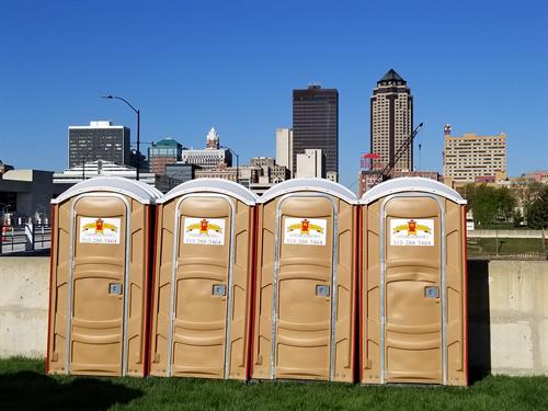 Standard Construction and Special Event Portable Restrooms