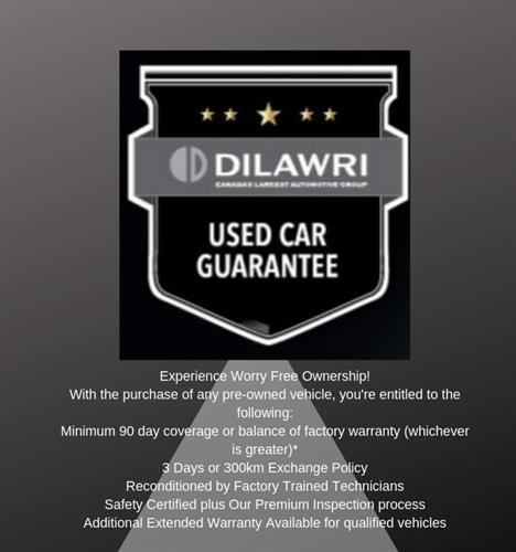 Dilawri Used Vehicle Guarantee