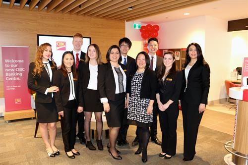 The amazing CIBC NorthWoods team