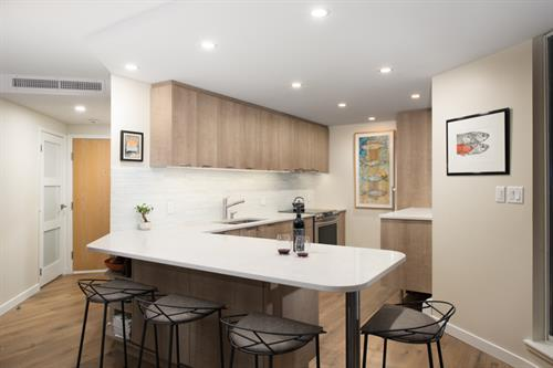 North Vancouver Condo Kitchen
