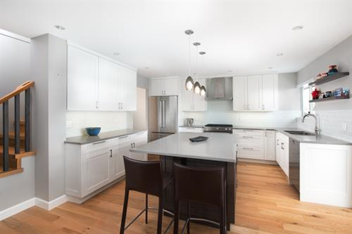 North Vancouver Townhouse Kitchen