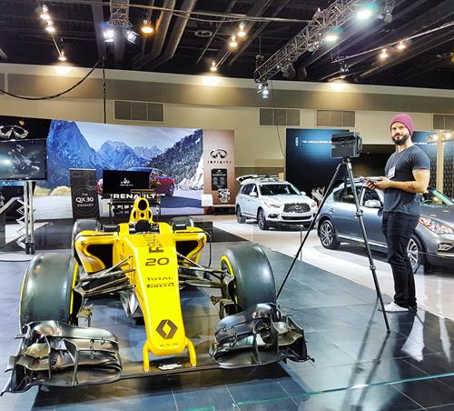 Virtual Tour capture @ Vancouver International Auto Show