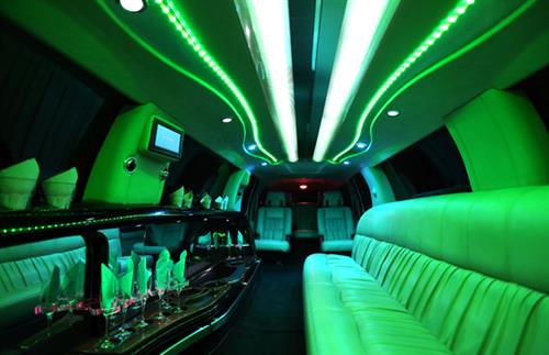 SUV Stretch Limousine Interior