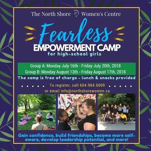 Fearless: Teen Girls Empowerment Camp