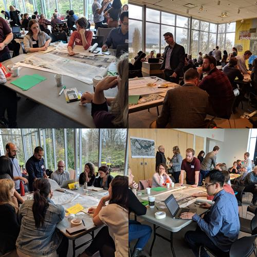 "Gloria Venczel, Thougth Leader, + Charrette Planner, RAIC, MetroVan's Built City Speaker Series "" The Nuts n' Bolts of Affordable Housing-Finance, Form + Tenure- A  TOD Mini Charrette"""