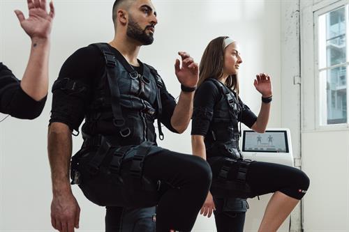 Electronic Muscle Stimulation (EMS) Training at Vibe Lounge