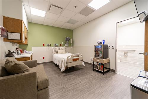 Extremely Clean & Private Rooms - Our Private Rooms are completely separated from other patients. No chance for exposure to illnesses and complete privacy.