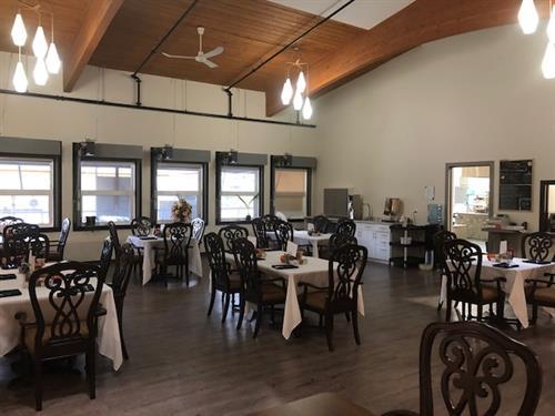 The Vintage - dinning room