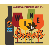 Lakeview East Wine & Sweets Stroll 2018