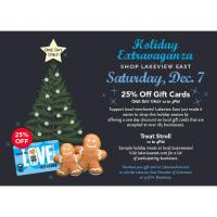 Lakeview East Shopping Extravaganza & Holiday Treat Stroll!