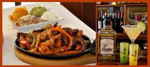 Fajitas & El Jimador Tequila