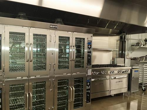 40 rack confection oven