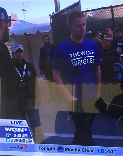 Rob Zastryzny and the rest of the Cubs love wearing The Wolf of Wrigley™ apparel. When you're the best at what you do, you want to rep the best brand. Period.