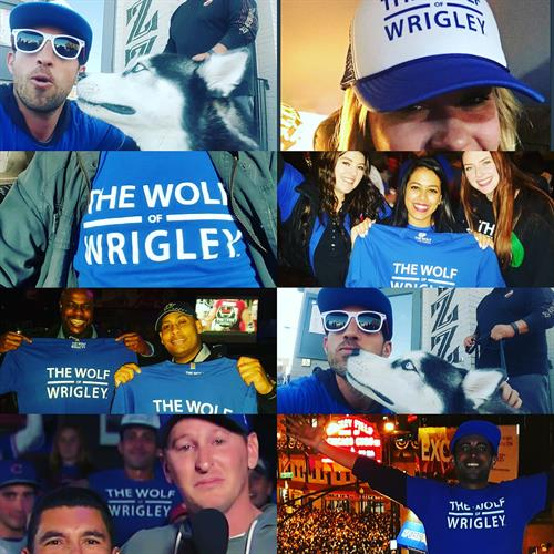 The many Wolves of Wrigley. Welcome to the Wolfpack!
