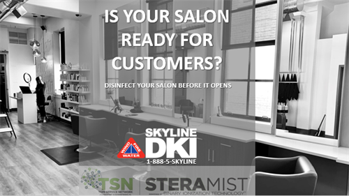 Salon Disinfecting Services with Skyline DKI