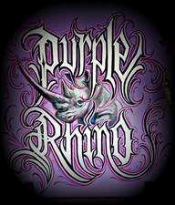 Purple Rhino Tattoo