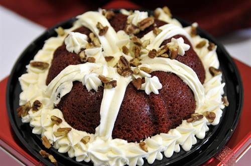 Red Velvet with Cream Cheese Frosting 6-in. Bundt