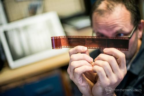 Scanning of film and digital restoration of old photos