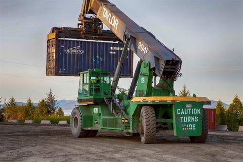 Full container handling capability