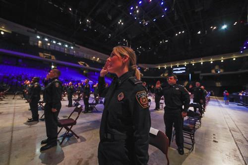 May 1, 2021 Badge Pinning Ceremony