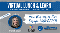HOW BUSINESSES CAN ENGAGE WITH CY-FAIR ISD WEBINAR - September 17th