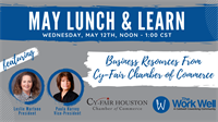ON-SITE Lunch and Learn! Business Resources from the Cy Fair Chamber of Commerce