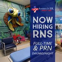 Now Hiring: Emergency Room RN – FT/PRN/Day/Mid/Night