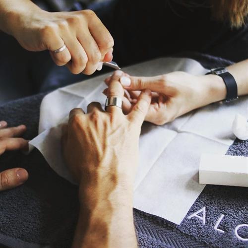 Manicures for men.