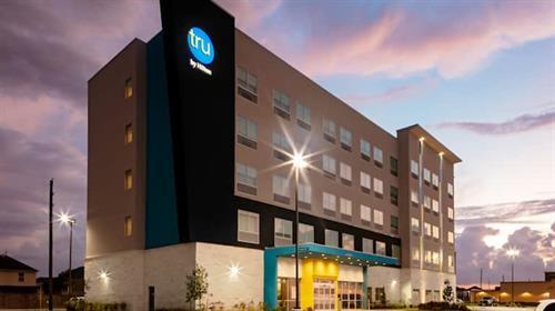 Tru by Hilton at Dusk
