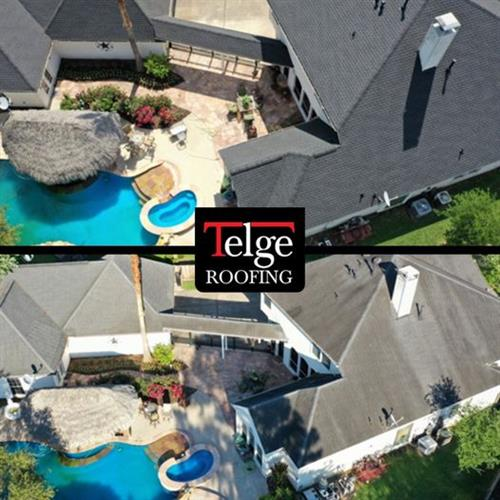 Another Coles Crossing transformation by Telge Roofing!