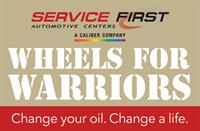 Service First Automotive - Wheels for Warriors Event to Award Veteran the Gift of Transportation Dec. 12.