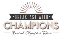 Special Olympics Texas - Virtual Breakfast with Champions