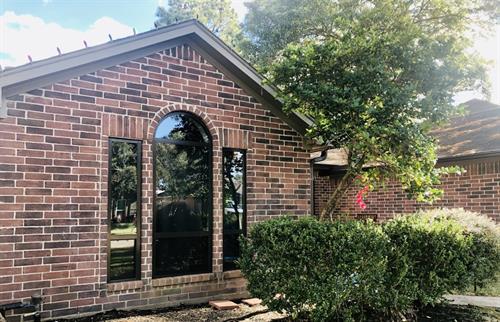 Bronze aluminum replacement windows