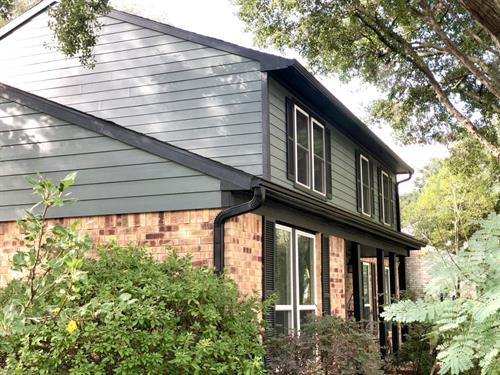 James Hardie Siding and replacement windows in Cypress, TX