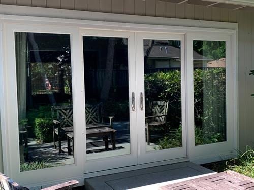 Patio Doors - 4 panel door that slides