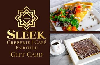 Sleek Creperie and Cafe