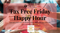Tax Free Friday Happy Hour
