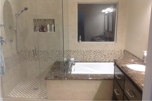 This is a bathroom we remodeled in Pearl, MS. To see the compelete remodel including before and after pictures, please visit our website www.homeremediesllc.com.