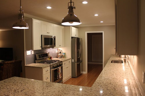 This is a sample of a kitchen renovation we have completed. To see more of our kitchens, please visit us on the web at www.homeremediesllc.com.