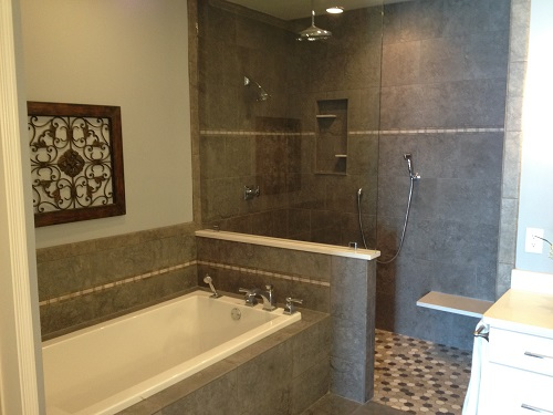 This is a bathroom remodel we completed as part of an entire-home remodel in Brandon, MS. To see the remodel including before and after pictures, please visit our website at www.homeremediesllc.com.