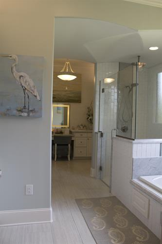 Bathroom remodel completed in Madison, MS. Won Best Bathroom 2015 from Home Builder's Association of MS. Please visit our website for before and after images of this bathroom!