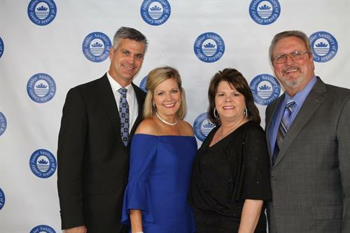 Royd and Clancy Walker, Judy and Tim Rogers attend the Junior Auxiliary Rankin County Children's Benefit Gala